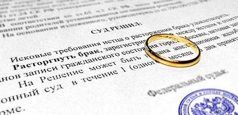 Подача искового заявление на развод в суд