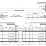 Образец и пример рапорта о работе башенного крана формы ЭСМ-1