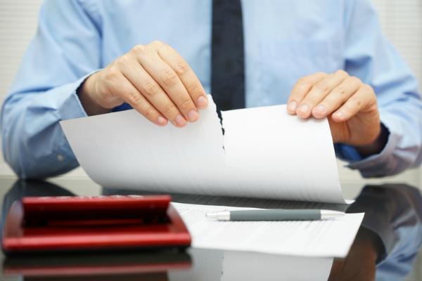 Ответ на уведомление от покупателя о расторжении договора