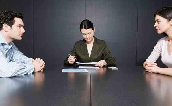 Переговоры супругов о разделе имущества