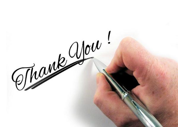 Правила написания благодарственного письма