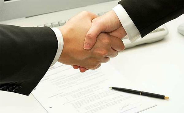 Успешное подписание договора