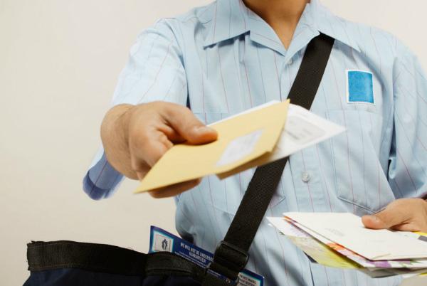 Отправка жалобы по почте
