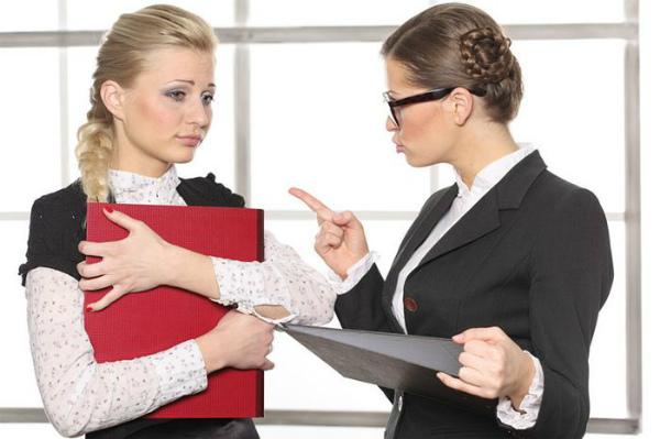 Взыскание за нарушение на рабочем месте