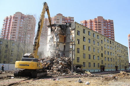 Программа сноса ветхого и аварийного жилья