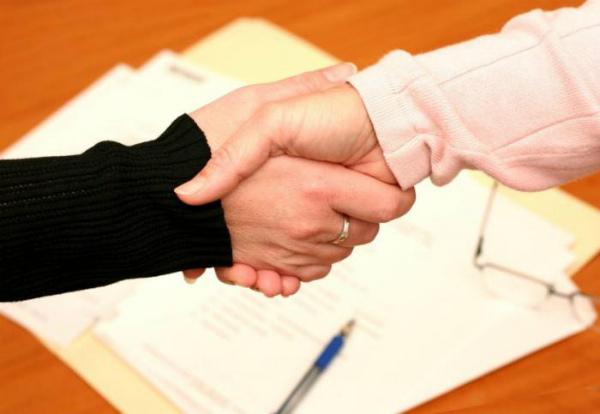 Заключение соглашения о задатке