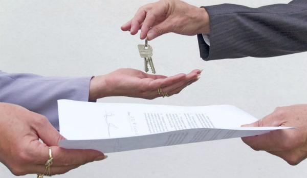 Передача ключей от помещения