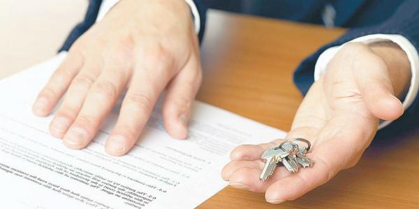 Подписание акта и передача ключей