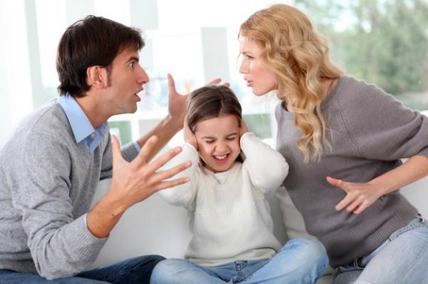 Положение детей при разводе