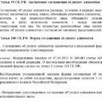 Статьи 99 и 100 СК РФ
