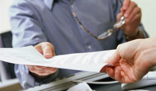 Передача расчетного листка по зарплате
