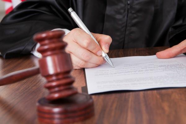 Подписание определения о возвращении искового заявления